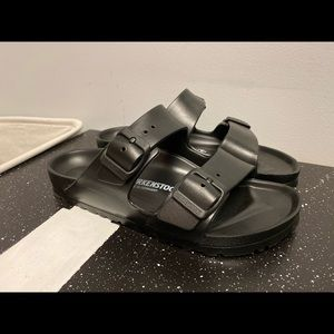 Black Arizona Essentials EVA Rubber Birkenstock's